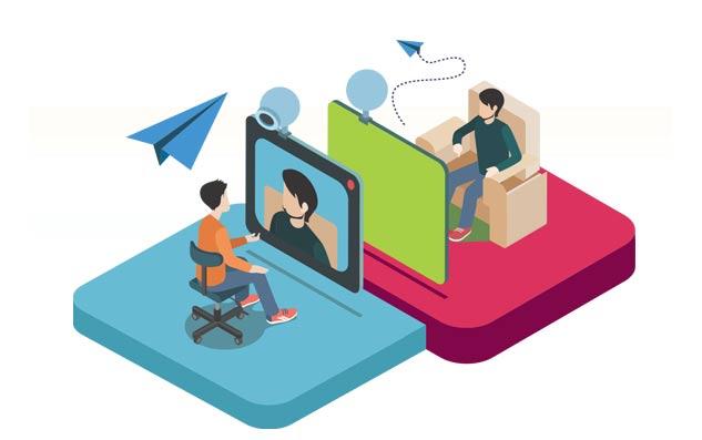 Visioconférence, webconférence, webinaires, partage d'écran